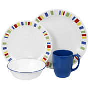 Corelle® Livingware™16-pc. Break-Resistant Dinnerware Set