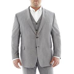 JF J. Ferrar® Gray Suit Jacket–Big & Tall