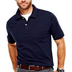 St. John's Bay® Legacy Piqué Polo Shirt