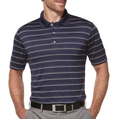 PGA TOUR® Short-Sleeve Airflux Striped Polo