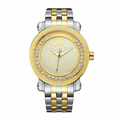 JBW Men's Hendrix 0.20 ctw Diamond Stainless Steel Watch J6338D