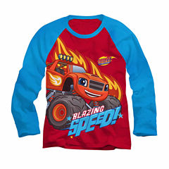 Blaze Speed Graphic T-Shirt - Toddler 2T-5T