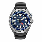 Seiko Mens Blue Strap Watch-Sun065