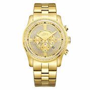 JBW Men's Vanquish .42 ctw Diamond 18k gold-plated stainless-steel Watch J6337B