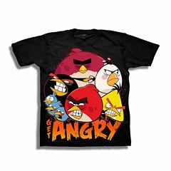 Angry Birds Graphic T-Shirt-Preschool Boys