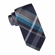 Collection by Michael Strahan™ Dallas Plaid Silk Tie - Extra Long