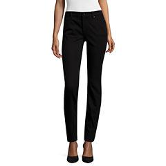 Liz Claiborne® City-Fit Skinny Jeans