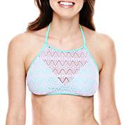 Arizona Crochet Bra Swim Top - Juniors