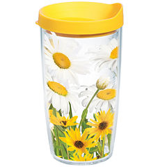 Tervis® 16-oz. White Daisies Insulated Tumbler