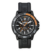 Timex® Expedition Mens Black Resin Strap Watch