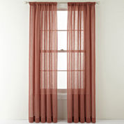 MarthaWindow™ Flutter Rod-Pocket Sheer Panel