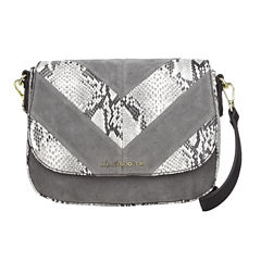 Liz Claiborne Alanis Flap Saddle Crossbody Bag