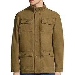 Levi's® Cotton Long-Sleeve 4-Pocket Midweight Barn Coat