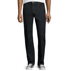 Arizona Flex Denim Relaxed-Fit Straight-Leg Jeans