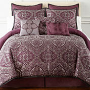 Home Expressions Bristol 7-pc. Comforter Set & Accessories