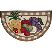 Nourison® Fruit Washable Wedge Rug