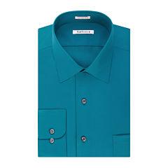 Van Heusen® Long-Sleeve No-Iron Lux Sateen Dress Shirt - Big & Tall