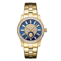 JBW 18k Gold-Plated Stainless-Steel Celine Womens Gold Tone Bracelet Watch-J6349b