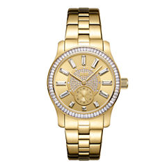 JBW 18k Gold-Plated Stainless-Steel Celine Womens Gold Tone Bracelet Watch-J6349c