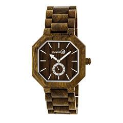 Earth Wood Acadia Unisex Green Bracelet Watch-Ethew4704