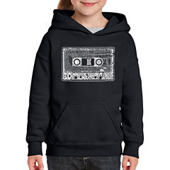 Los Angeles Pop Art The 80'S Long Sleeve Sweatshirt Girls