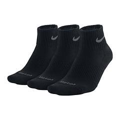Nike® 3-pk. Dri-FIT Quarter Socks–Big & Tall