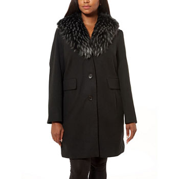 Liz Claiborne Heavyweight Peacoat plus