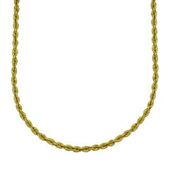 Majestique™ 18K Yellow Gold Rope Chain Necklace