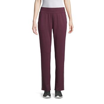 St John Bay Active Womens Mid Rise Slim Pant Tall