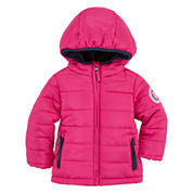 US POLO GIRL PUFFER JACKET  INFANT SIZE