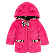 Weatherproof Girls Heavyweight Fleece Jacket-Baby