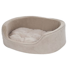 Petmaker Cuddle Round Microsuede Pet Bed