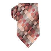 Van Heusen® Geo Pattern Tie - Extra Long