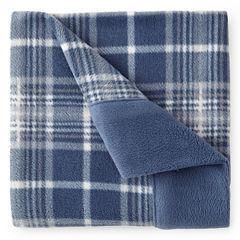Sunbeam® Set of 2 Super-Soft Heavyweight Fleece Pillowcases