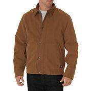 Dickies® Sanded Duck Sherpa-Lined Jacket