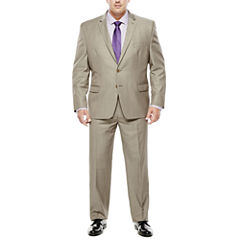 Collection by Michael Strahan Taupe Suit- Big & Tall