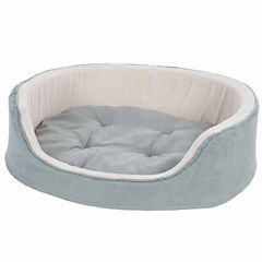 Petmaker Cuddle Round Suede Terry Pet Bed