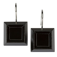 Modern Angles Shower Curtain Hooks