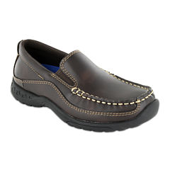 Stacy Adams® Porter Boys Moc Toe Slip-On Dress Shoes - Little Kids/Big Kids