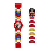 LEGO® DC® Universe Super Heroes Wonder Woman Kids Watch with Mini Figure