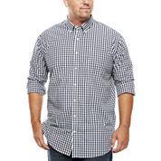 The Foundry Supply Co.™ Easy-Care Poplin Shirt - Big & Tall