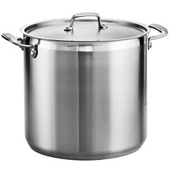 Tramontina® Gourmet 20-qt. Tri-Ply Covered Stock Pot