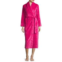 Sleep Chic Long Sleeve Plush Robe