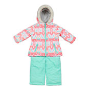 Carter's Girls Ski Jacket-Preschool