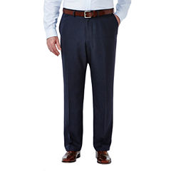 Haggar Classic Fit Woven Pattern Suit Pants - Big and Tall