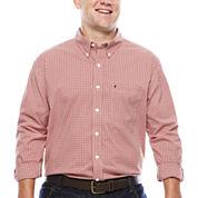 IZOD® The Advantage Long-Sleeve Gingham Shirt