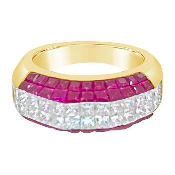 Limited Quantities Le Vian Grand Sample Sale Ring Featuring Passion Ruby Set In 18k Honey Gold
