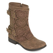 Tallulah Blu Womens Combat Boots
