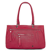 Perlina Dublin East/West Leather Satchel