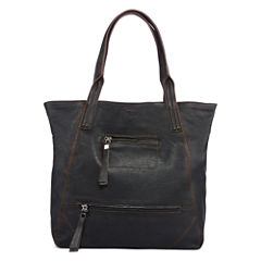 Perlina Amsterdam Leather Tote Bag